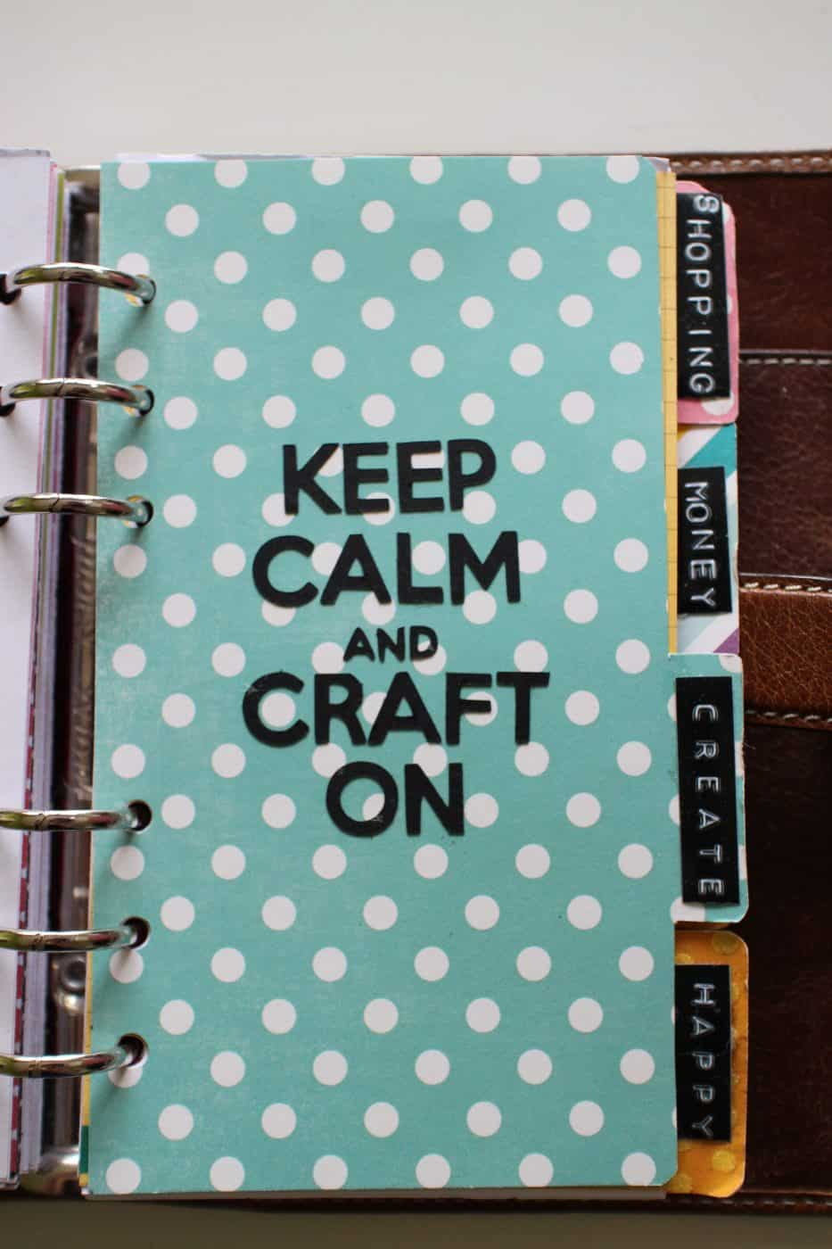 How to make planner dividers for your filofax or kikki k for Make a planner online