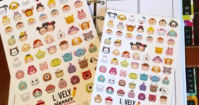 {Freebie} Tsum Tsum planner stickers