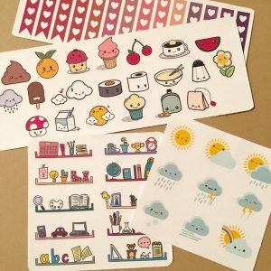 stickers mix