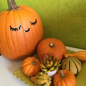 pumpkin decals DIY