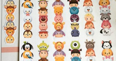 FREE Tsum Tsum checklist stickers for your planner