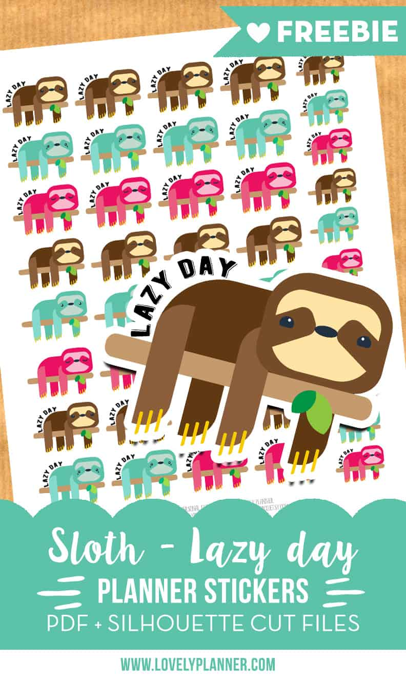 sloth-lazy-day-free-planner-stickers