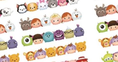 Free Tsum Tsum box dividers stickers for your planner