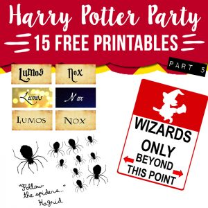 photo relating to Hogwarts Express Printable known as 15 no cost Harry Potter occasion printables - portion 2 - Stunning Planner