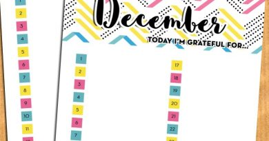 "Gratitude planner inserts: ""Today I'm grateful for"" - Free printable"