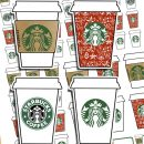 Starbucks cups stickers – Free planner printable {Advent calendar – Day 8}