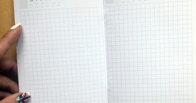 FREE A6 Traveler's Notebook Printable Inserts - Undated daily pages Hobonichi style