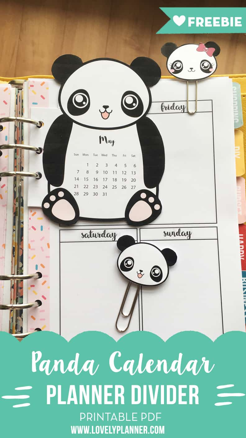 This is an image of Decisive Panda Planner Pdf