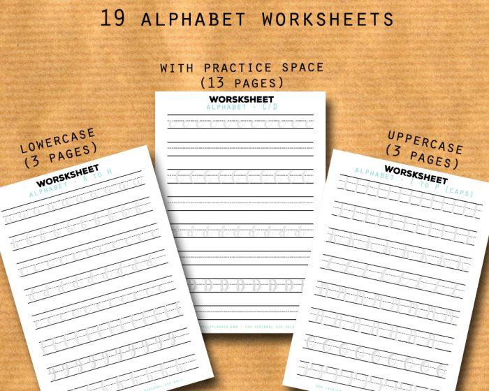 Alphabet-lettering-worksheets-planners-bujo-procreate