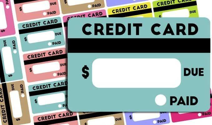 Free Credit Card Bill Reminder Stickers - Printable & Cut File