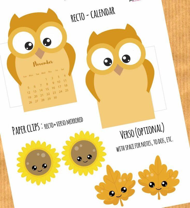Owl Planner Divider