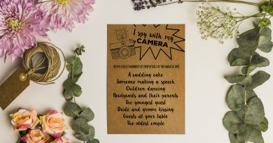 Wedding Scavenger Hunt - Free Printable