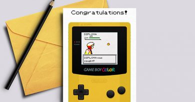 Free Printable Nintendo Pokemon Graduation Card: Diploma was caught