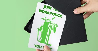 Free Printable Star Wars Graduation Card - Yoda