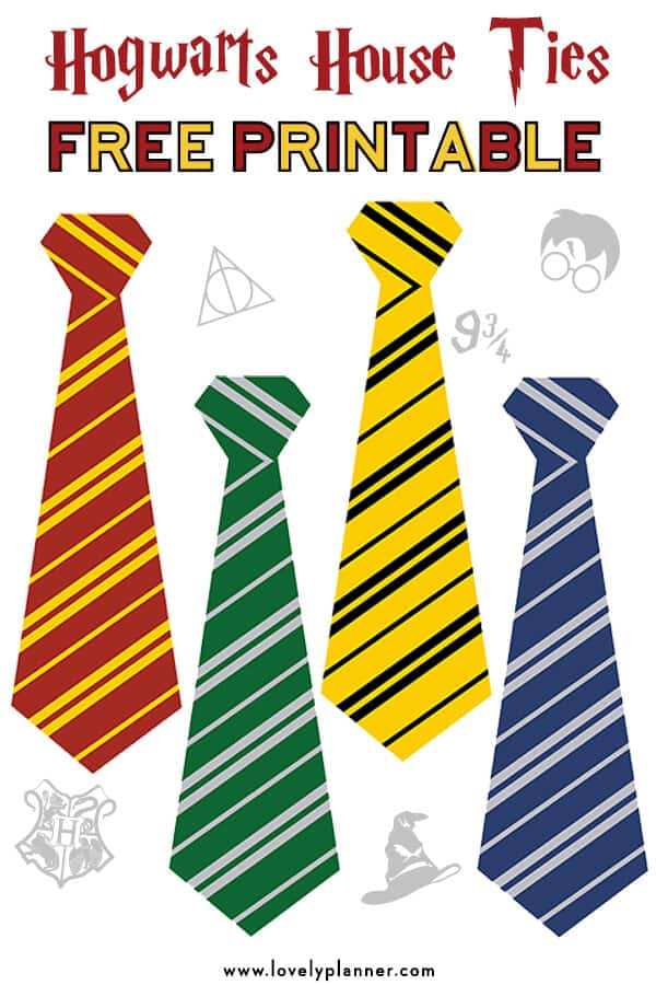 Harry potter tie template image collections template for Harry potter tie template