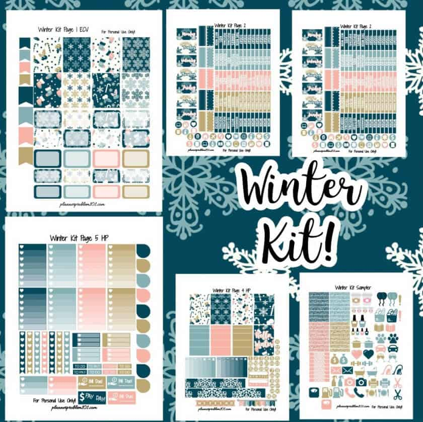 Winter Kit (6 pages)