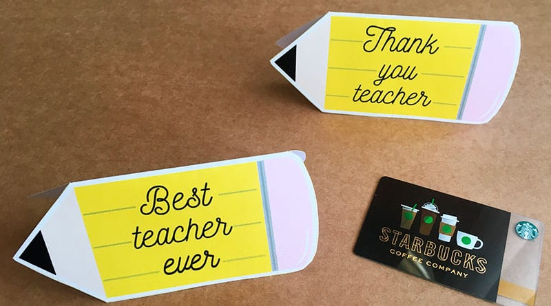 photo relating to Thank You Teacher Free Printable referred to as Absolutely free Printable Trainer Appreciation Reward Card Holder