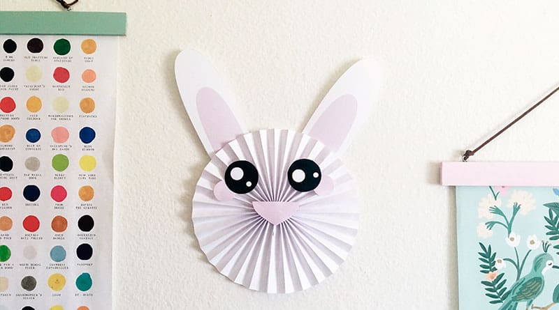 picture about Printable Bunny identify Absolutely free Printable Bunny Rosette Do-it-yourself for Easter - Gorgeous Planner