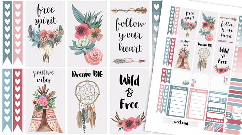 91c3cba13e5c Lovely Planner - Free printables   party printables