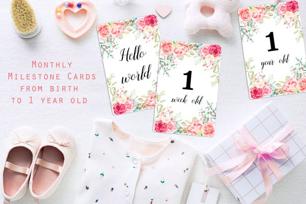 It is a photo of Free Printable Baby Month Stickers inside 1st month