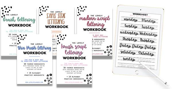 Free Printable Beach Sayings Lettering Worksheet (Printable