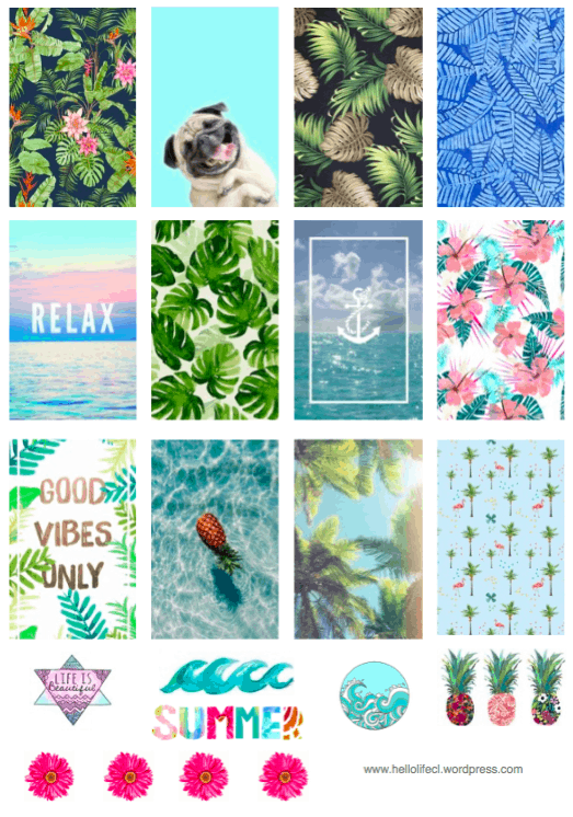 Summer Printables Large HP