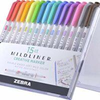 Zebra Pen Mildliner, Double Ended Highlighter, Broad and Fine Tips