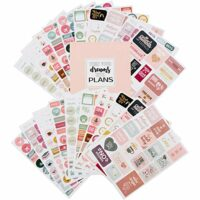 Monthly Weekly Daily Planner Sticker Set of 1,000+ Stickers