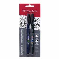 Tombow Fudenosuke Brush Pen, Soft and Hard Tip