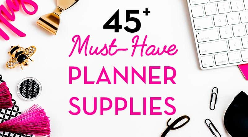 picture about Planner Supplies identify 45 Need to-Comprise Planner Components: Instruments, Pens, Equipment