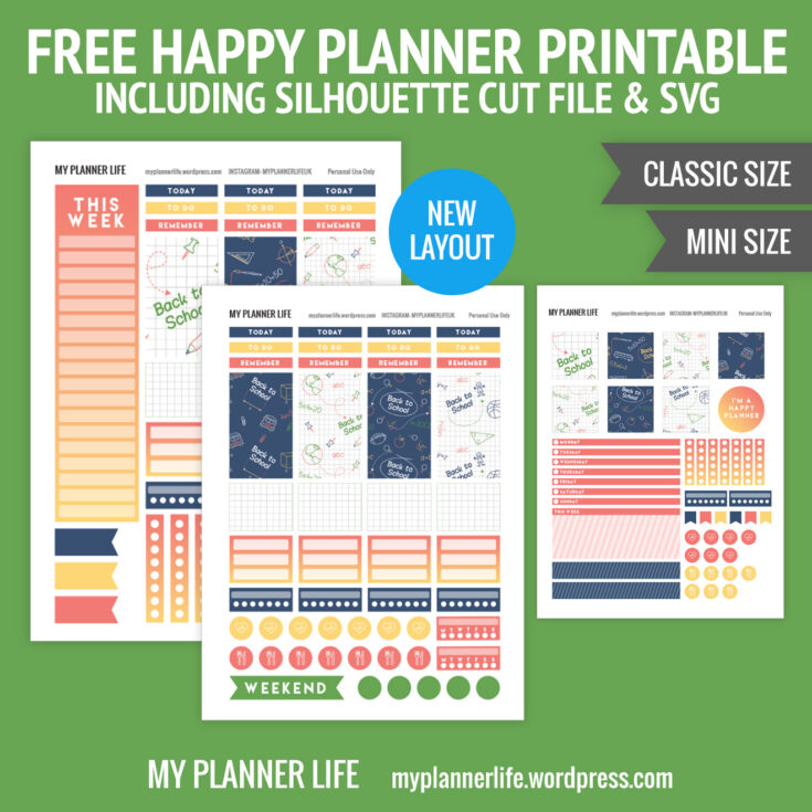 Free Printable – Back to School Again