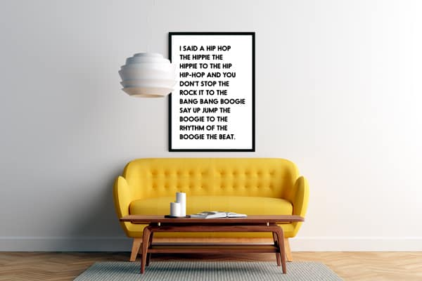 Free Printable Rappers Delight Wall Art Hip Hop