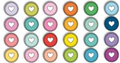 happy planner discs stickers free printable