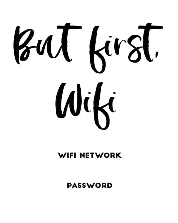 17 Free Printable Wifi Signs