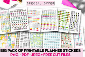 special offer kawaii stickers pack
