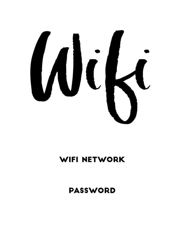 Get Print Free Printable Template Wifi Sign Wallpapers