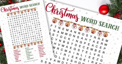 free printable christmas word search kid activity sheet