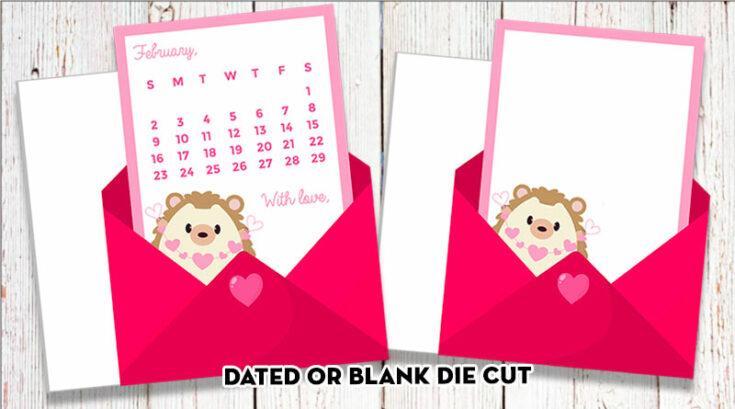 Free Printable Love Letter Planner Die-Cut