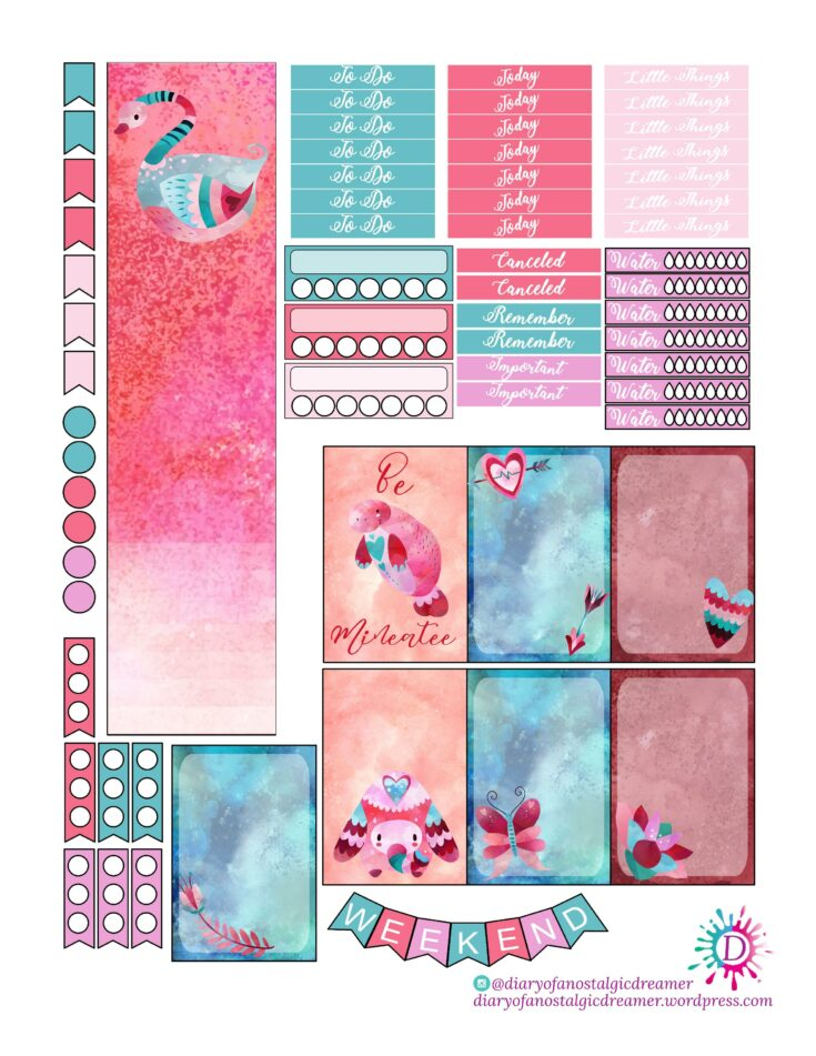 """""""Be Mineatee"""" Kit For HappyPlanner"""