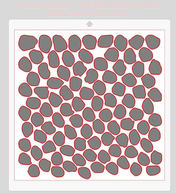 DIY dots decals accent wall tutorial