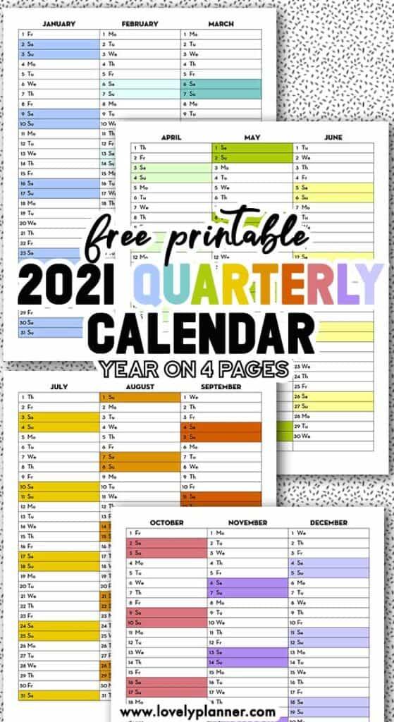 Free Printable 2021 Calendex Calendar Bullet Journal 2021 ...