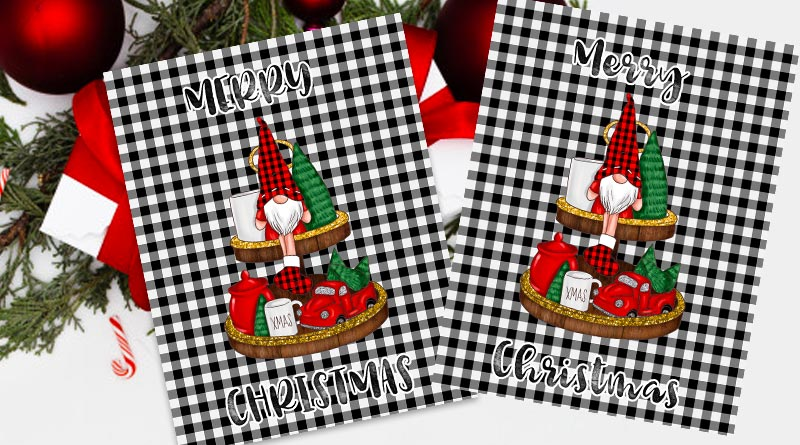 Free Printable Christmas Gnome Sign