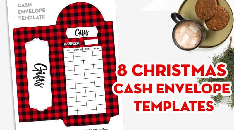 8 Free Printable Christmas Cash Envelope Templates Buffalo Plaid