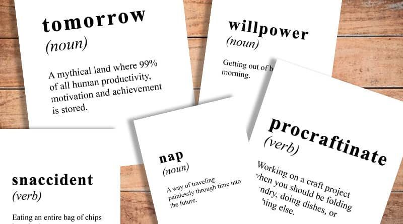 free printable funny dictionary definition signs