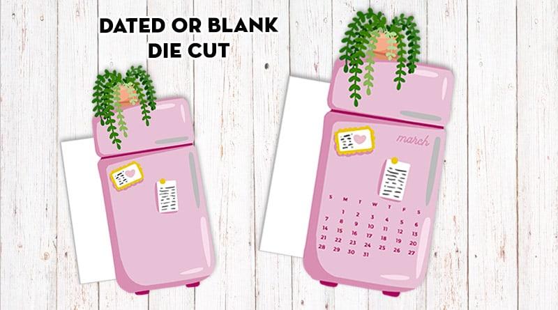 Free Printable Cute Retro Fridge Planner Divider