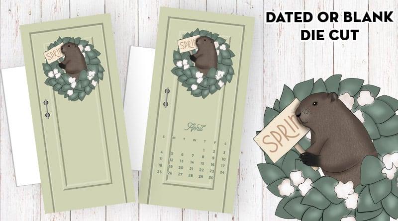 Free Printable Spring Door Planner Divider