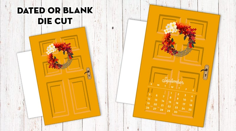 Free Printable Fall Door Planner Divider